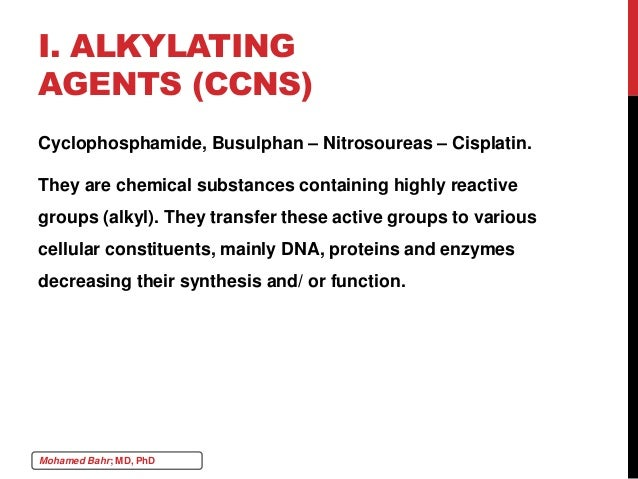 Chemotherapy 7 anticancer agents