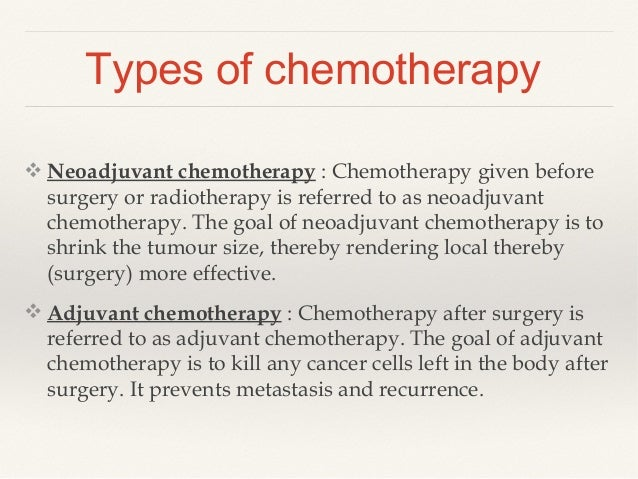 Chemotherapy In Ovarian Cancer