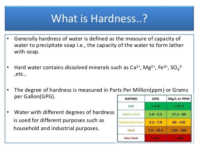 lab 11 determination of water hardness 11 this test method covers the determination of hardness in water by titration this test method is applicable to waters that  vol 1101 3 annual book of astm.