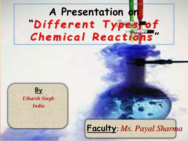 Different Types Of Chemical Reactions Ppt