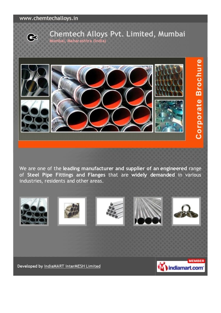 Chemtech Alloys Pvt. Limited, Mumbai            Mumbai, Maharashtra (India)We are one of the leading manufacturer and supp...