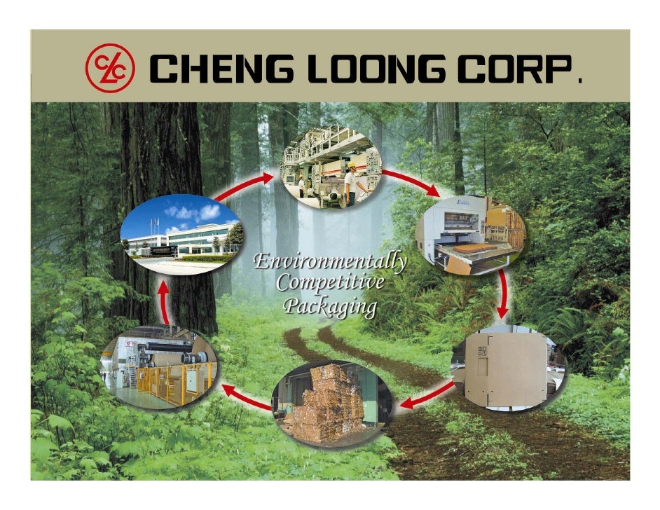 Cheng Loong Corp Headquartered in Taipei      Key Products:   • Largest integrated       • Containerboard     paperboard p...