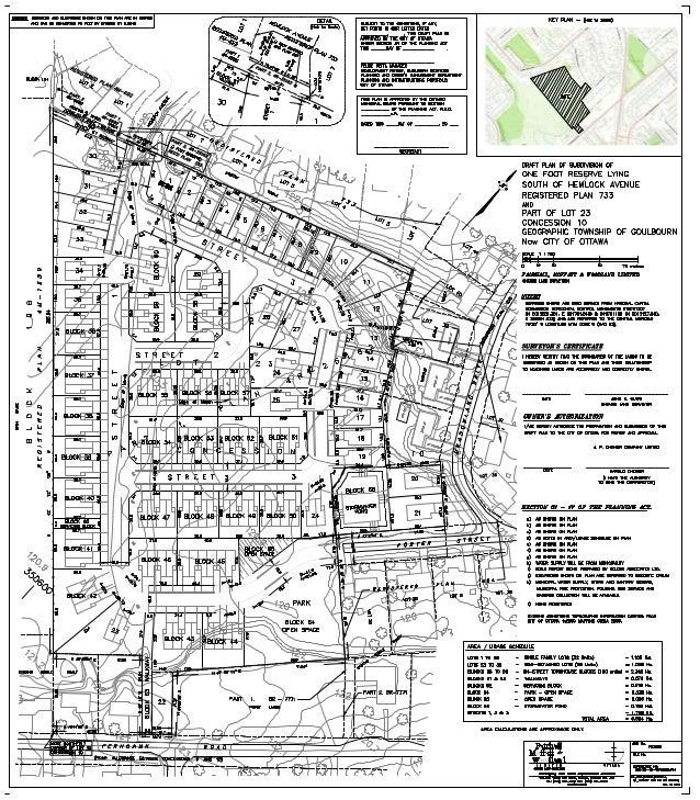 6279 Fernbank Subdivision Plan