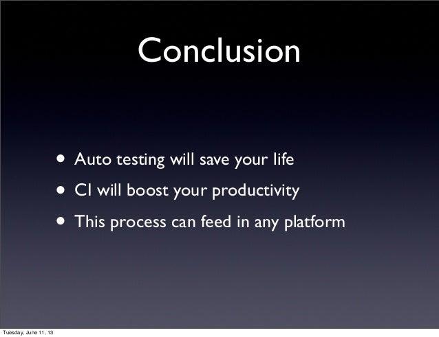 hadoop summit 2013   continuous integration on top of hadoop