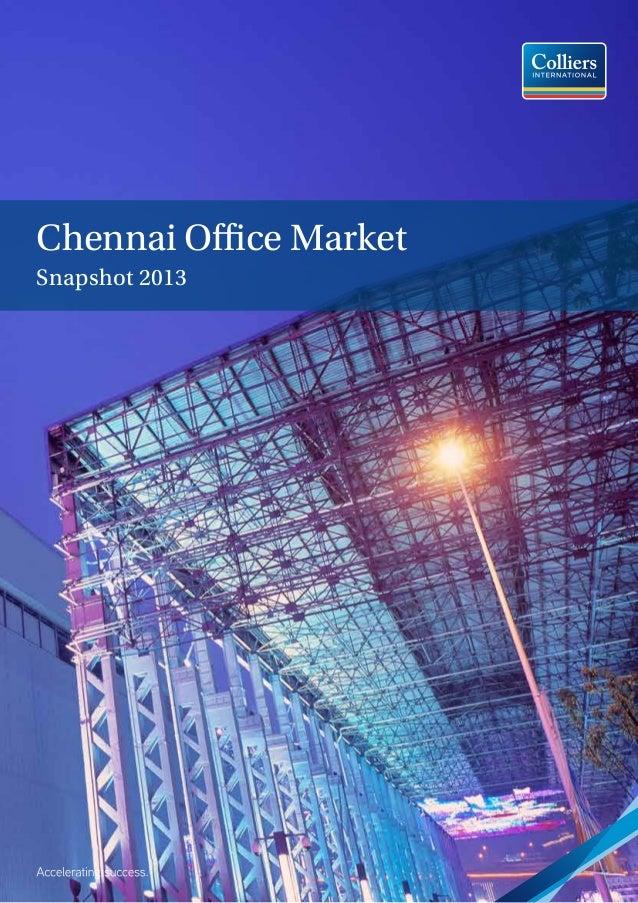 Chennai Office Market Snapshot 2013