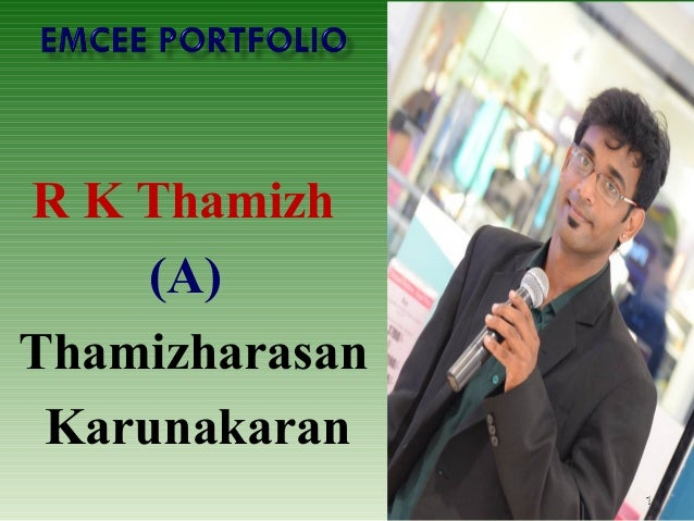 R K Thamizh (A) Thamizharasan Karunakaran 11