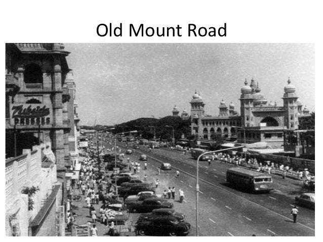 College Station Ford >> Chennai in early 1900s