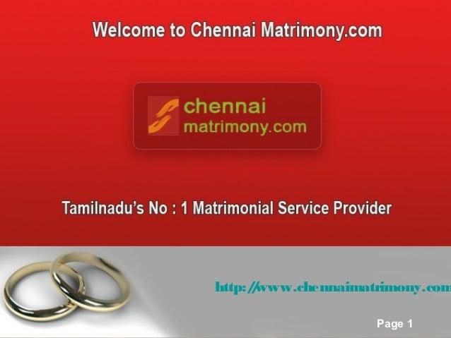 http:/www.chennaimatrimony.com              /Free Powerpoint Templates                            Page 1