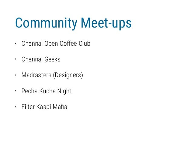 Chennai Startup Ecosystem - A collection Slide 2