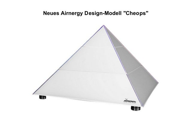 "Neues Airnergy Design-Modell ""Cheops"""