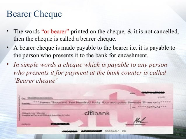 what does post dating a cheque mean What is a cheque  definition - kinds and types of cheques,  post-dated cheque if a cheque bears a date which is yet to come (future date) .