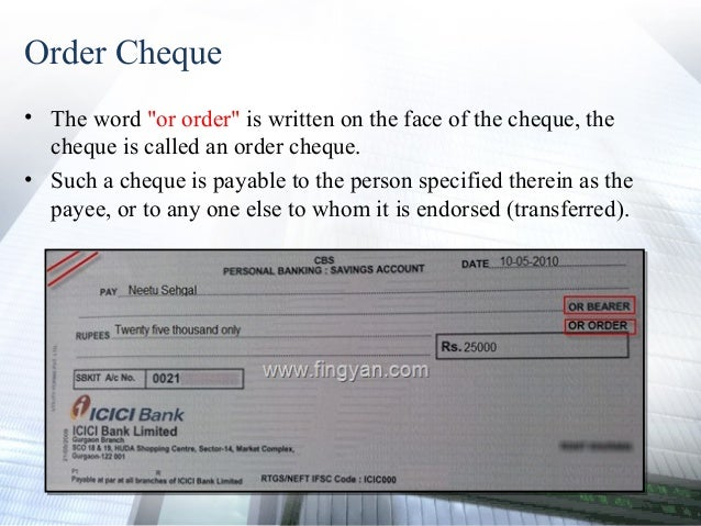 cross cheque meaning