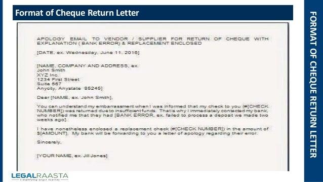 return letter template