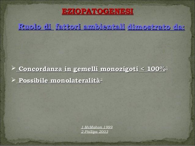 Cheratocono eziopatogenesi e diagnosi - Gemelli monozigoti diversi ...