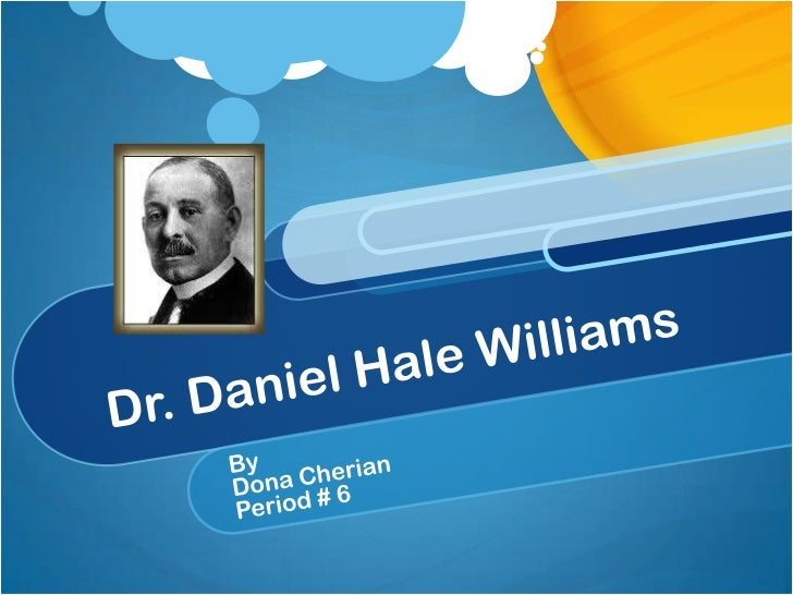 Introduction…An American physician and founder of Provident   Hospital in Chicago, credited with the first         success...
