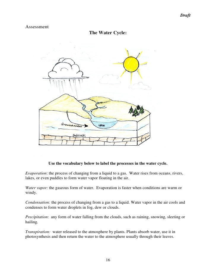 The Water Cycle Worksheet Answers apexwindowsdoors – The Water Cycle Worksheet Answers