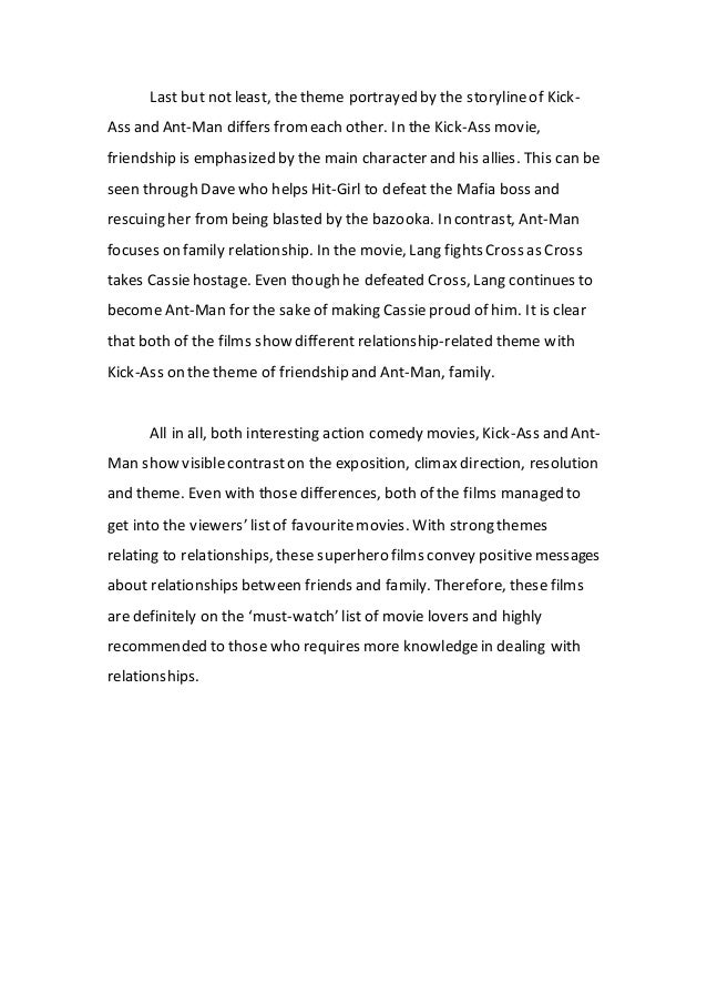 Essay on ant in english