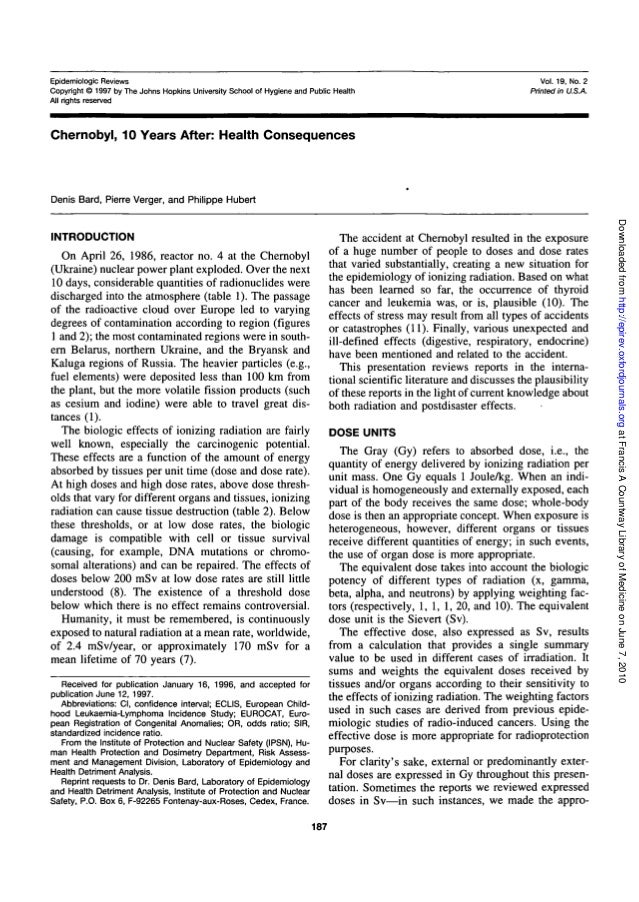 Epidemiologic Reviews Copyright © 1997 by The Johns Hopkins University School of Hygiene and Public Health All rights rese...