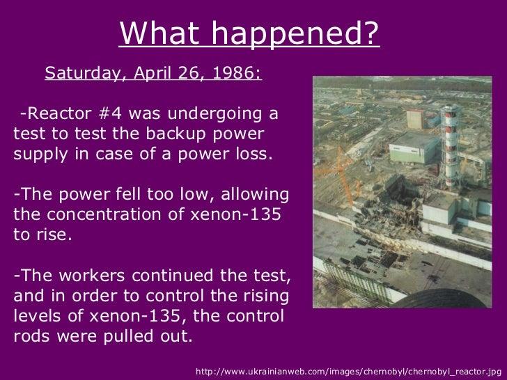Chernobyl Disaster Essay Sample