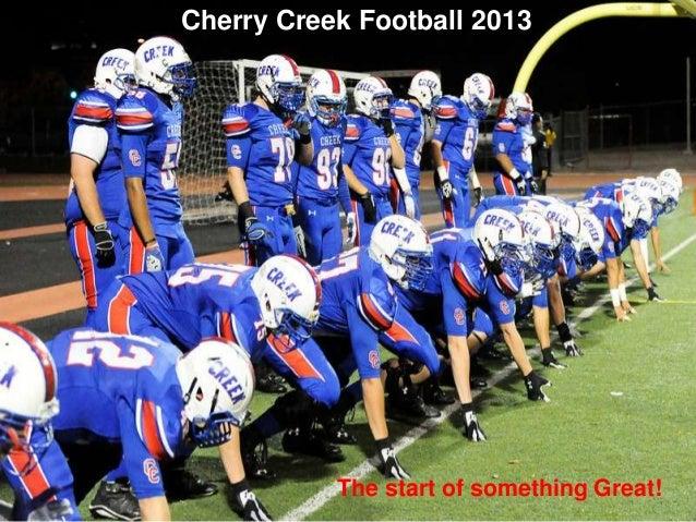 Cherry Creek High School Campus Map.Cherry Creek High School Varsity Football 2013 Season