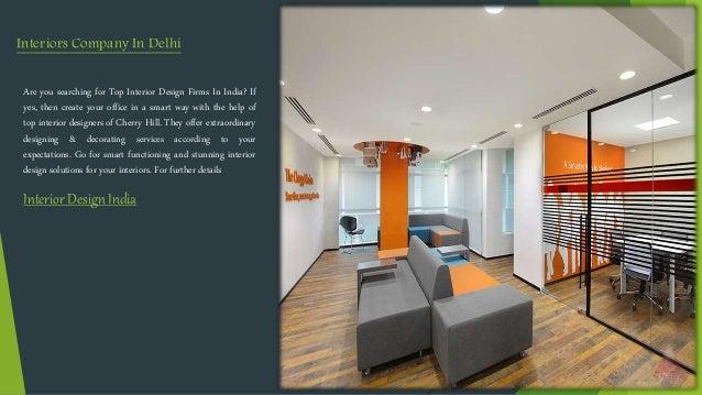 Cherry Hill Interior Design Companies In India