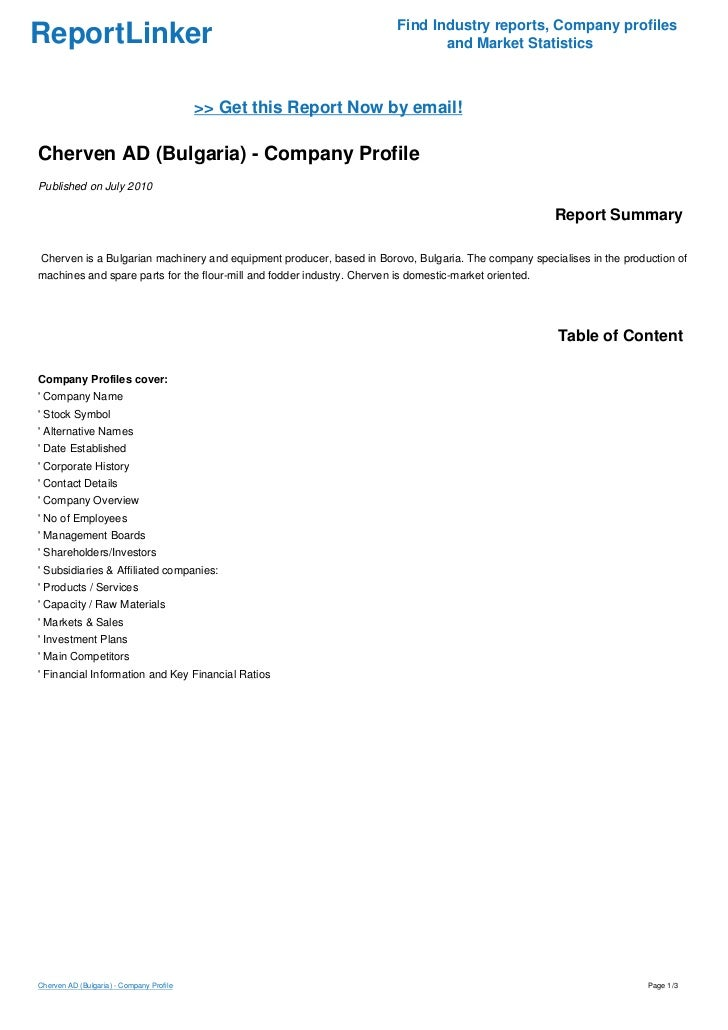 Find Industry reports, Company profilesReportLinker                                                                    and...