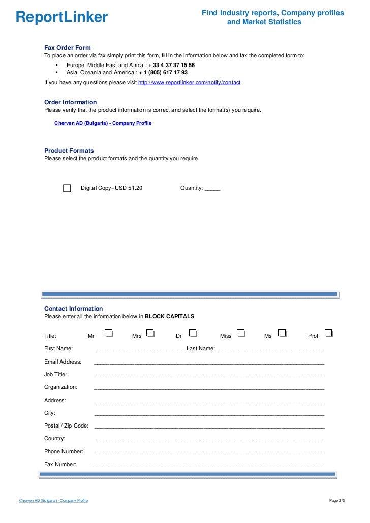 Cherven AD (Bulgaria) - Company Profile Slide 2
