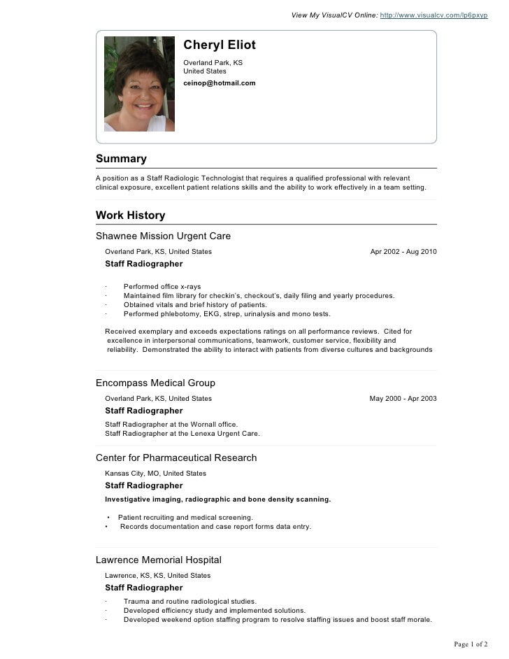 cheryl eliot visual cv resume  4