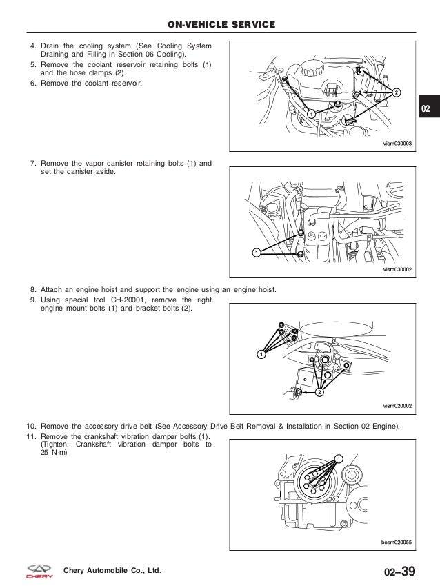 Chery Orinoco M11service Manual - Chery Qq Engine Wiring Diagram