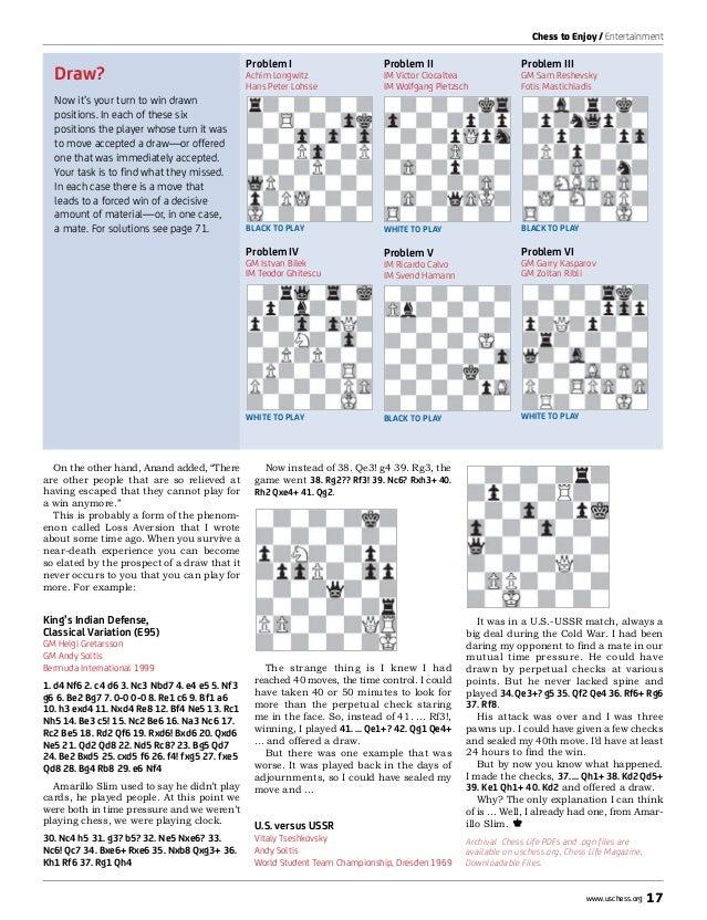 Chess Life January 2013