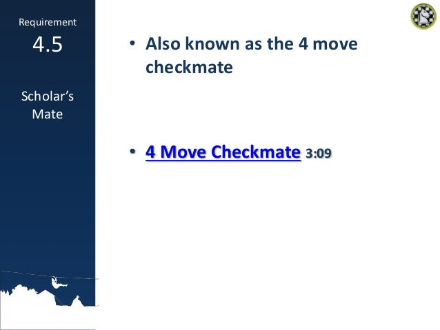 chess merit badge presentation
