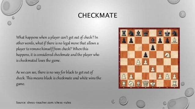 Chess rules for beginners part 3