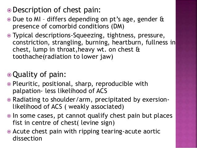 Indigestion and fullness in chest