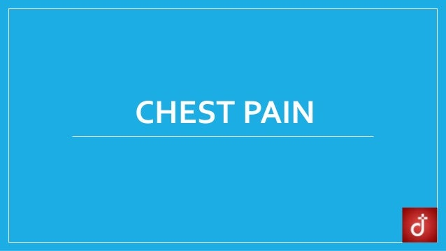 Chest Pain Causes Risk Factors Symptoms Diagnosis Treatment