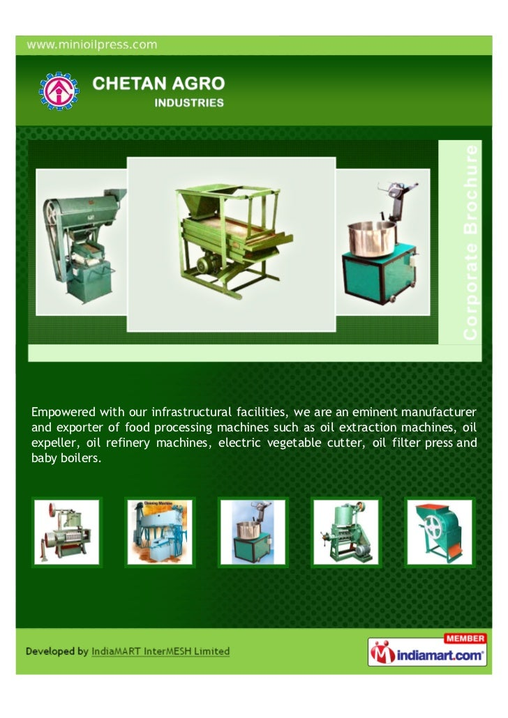 Empowered with our infrastructural facilities, we are an eminent manufacturerand exporter of food processing machines such...