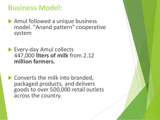 "amul case study Studying this model and the working of amul which was responsible for milk   ""co-operative dairying and rural development: a case study of amul,"" in."