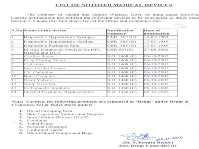 Medical device registration in india 11 no objection certificate yadclub Image collections