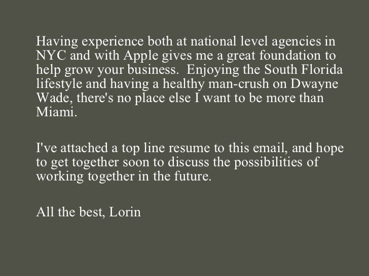 <ul><li>Having experience both at national level agencies in NYC and with Apple gives me a great foundation to help grow y...