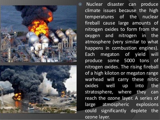 types of nuclear disaster