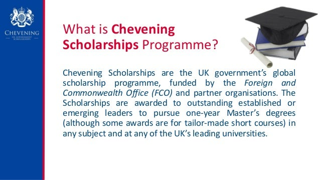 How to write a personal statement for chevening scholarship