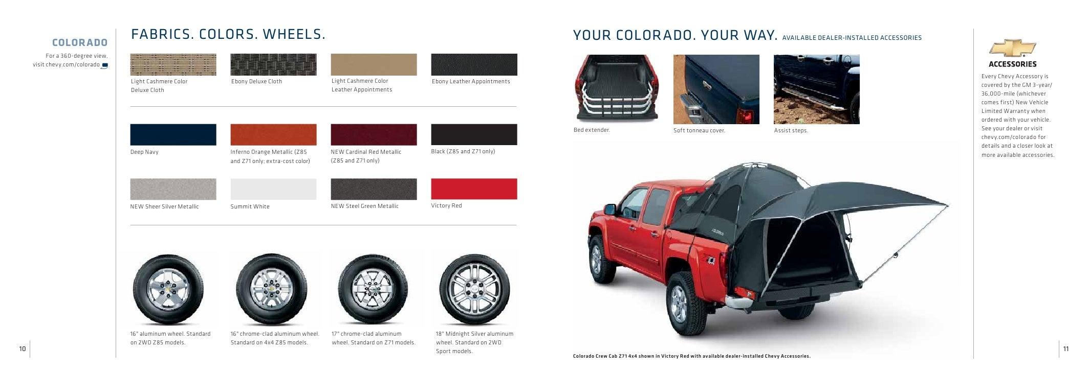 Chevrolet Colorado Truck Brochure