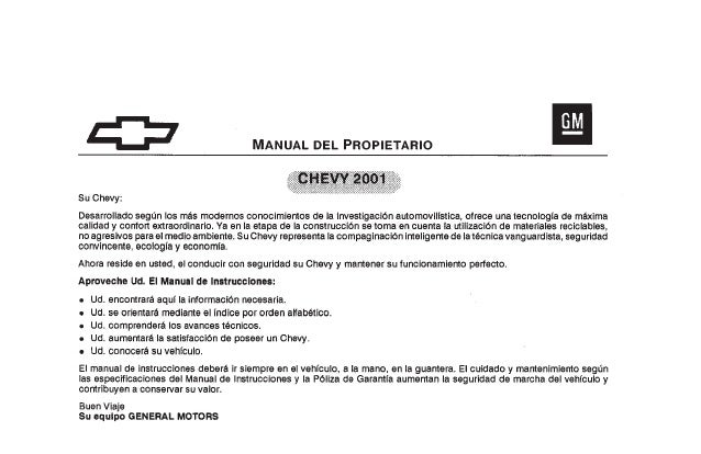 manual del estereo chevy 2001 user guide manual that easy to read u2022 rh sibere co