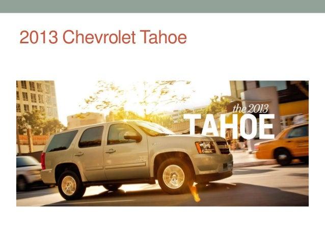2013 Chevrolet Suburban; 13.