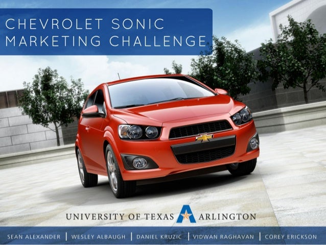 Chevrolet is throwing another hat into the small car ring. The upper-level advertising students of the University of Texas...