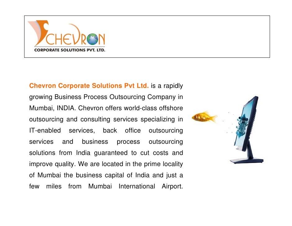CHEVRON COMPANY PROFILE PDF