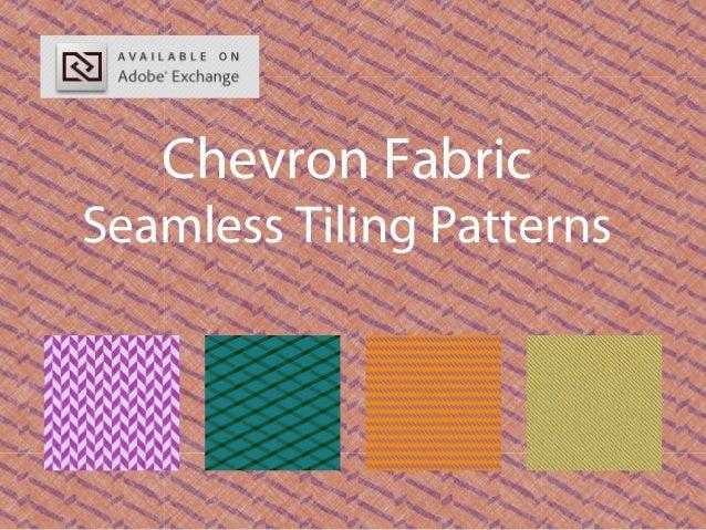 Chevron Fabric Seamless Tiling Patterns