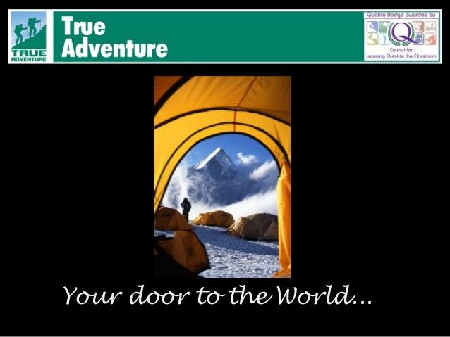 Your door to the World...