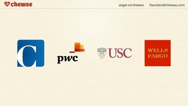 angel.co/chewse   founders@chewse.com