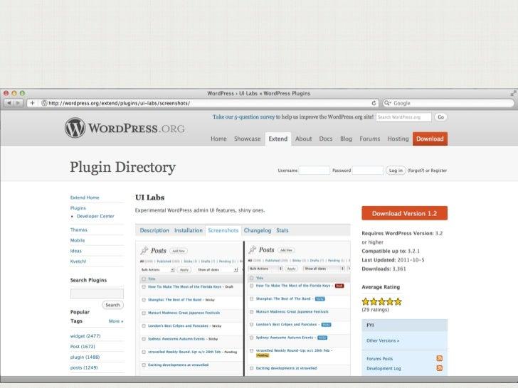 irc.freenode.net#wordpress-ui