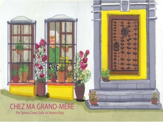 Grand-mère habite sur la Rue des Moines, 4 C'est une belle maison avec deux fenêtres au rez-de-chaussée. Elle y a mis deux...